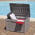 Комод мультифункциональный Compact Box Florida 120л, тепло-серый, 73x50,5x46,5h см,TOOMAX
