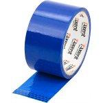 Лента клейкая упаковочная синяя, ширина 48 мм, длина 35 м. Толщина 40 мкм.Упаковка - запайка .