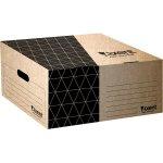 Короб для боксов архивных из гофрокартона. Размер 365*265*560мм. Цвет: крафт. Упаковка: пакет.