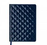 Ежедневник недатированный DONNA, A5, блок кремовый, синий (BM.2038-02)