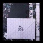 Набор заготовок для открыток с цветными конвертами FANCY