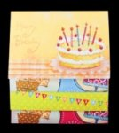 Набор для создания открыток BIRTHDAY (8 шт.)