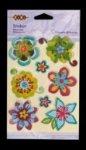 Наклейки многоярусные Flowers&Hearts