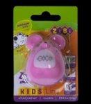 Точилка МЫШКА, с контейнером, 1 отв. в блист., розовый, KIDS Line