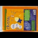 Обложки для книг Crystal, 8-11 класс, комплект 10шт., SMART Line