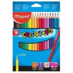 PreviousNext Карандаши цветные COLOR PEPS Classic, 18 цветов