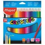 Карандаши цветные COLOR PEPS Classic, 24 цвета