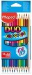 Карандаши цветные COLOR PEPS Duo, двусторонние, 12 шт., 24 цвета