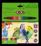 Карандаши цветные SOFT, 24 цветов