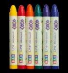 Карандаши восковые SUPER JUMBO, 6 цветов, круглый, BABY Line
