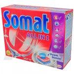 SOMAT  (ALL in 1)  таблетки для посудомоечных машин,  28шт.