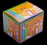 Мел цветной, 100 шт., картонная коробка, KIDS Line