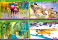 Альбом для рисования на скобе, 40 листов, 120 г/м2, KIDS Line