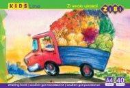 Альбом для рисования на пружине, 40 листов, 120 г/м2, KIDS Line