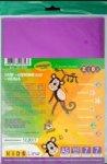 Набор цветной бумаги самоклеющейся Металлик, 7 листов А5: 7 цветов