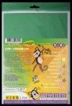 Набор цветной бумаги самоклеющейся, 11 листов А5: 11 цветов