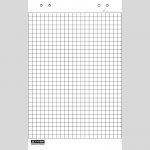 Блок бумаги для флипчартов BM.2295