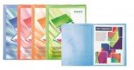 Дисплей-книга с карманом, А4, 20 файлов, прозрачная