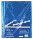 Файл для документів PROFESSIONAL, А4, 40мкм, синій, по 100 шт. в упаковці