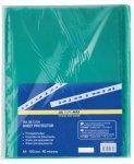 Файл для документів PROFESSIONAL, А4, 40мкм, зелений, по 100 шт. в упаковці