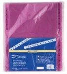 Файл для документів PROFESSIONAL, А4, 40мкм, фіолетовий, по 100 шт. в упаковці