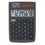 Калькулятор карманный CITIZEN SLD-100, 8 разрядов.