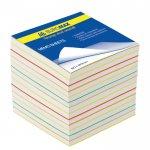 Блок бумаги для записей «РАДУГА», 90х90, 1100 листов, ВМ.2249