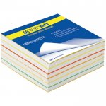 Блок бумаги для записей «РАДУГА», 90х90, 500 листов, склеенный, ВМ.2244