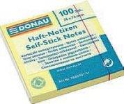 Блок для записей DONAU STANDARD, 76x76,  с клейким слоем  (Швейцария), 7586001