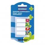 Закладки пластиковые DONAU DESIGN с клейким слоем  (Швейцария),  7568001PL-99