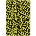 Блокнот ДВОСТОРОННІЙ. А5, 128 арк., крап/нелін, The Runes, жовтий