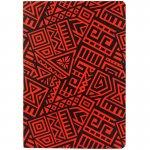 Блокнот ДВОСТОРОННІЙ А5, 128 арк., крап/нелін, The Runes, червон