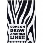 Книга записна тв. обкл, А5, 96 арк, кл, Animals Talk, Zebra