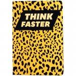 Книга записна тв. обкл, А5, 96 арк, кл, Animals Talk, Leopard