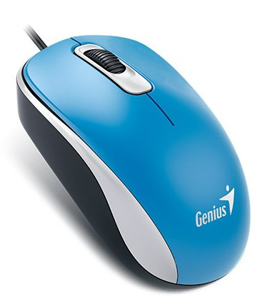 Мышь компьютерная Genius DX-110 USB,Blue  (31010116103 )