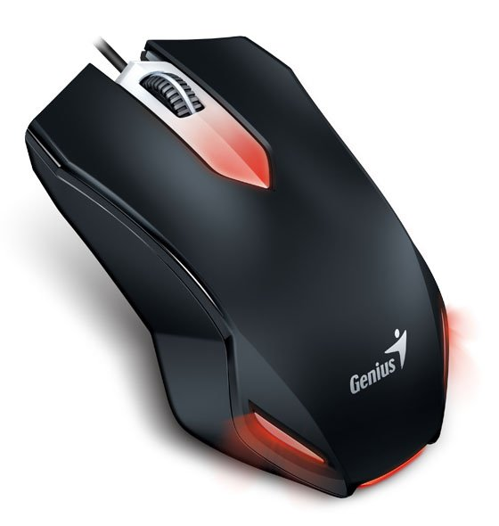 Мышь компьютерная Genius X-G200 USB Gaming Black  (31040034100 )